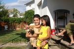 Mauricio y Maria Jose con Bitllot